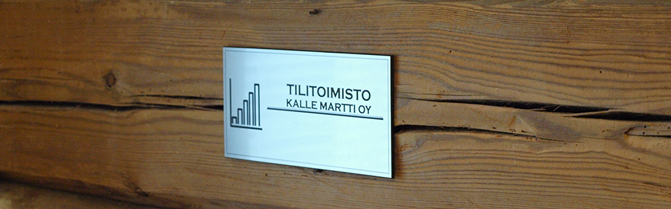 Tilitoimisto Kalle Martti, Nimikyltti